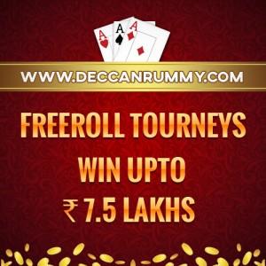Rummy freeroll tournaments
