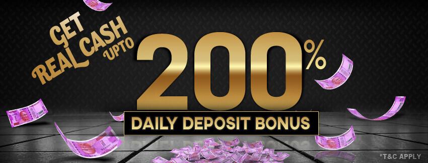 Daily Deposit Bonus