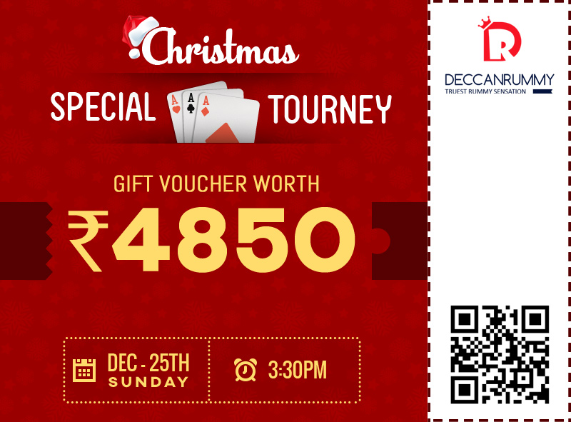 Play our Christmas Tournament Win Bookmyshow voucher