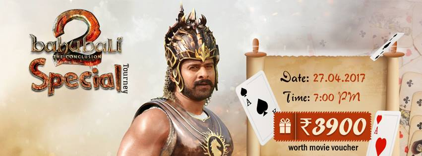 Baahubali 2 Special Tournament