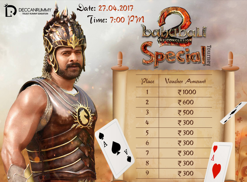 Baahubali 2 Special Tourney