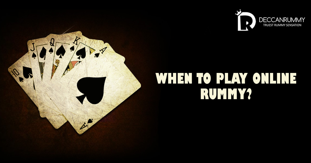 When-to-Play-online-rummy