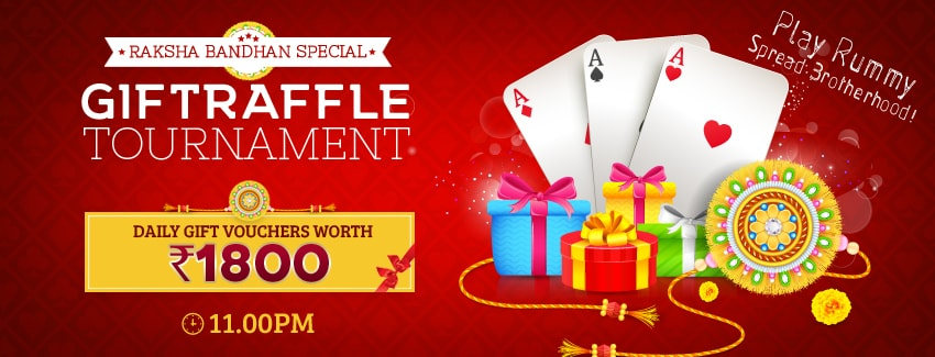 Rummy Tournaments- Raksha Bandhan Tourney