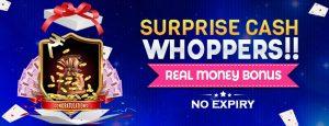 Surprise Cash Whoppers