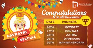 Winners Navratri Special Tournaments