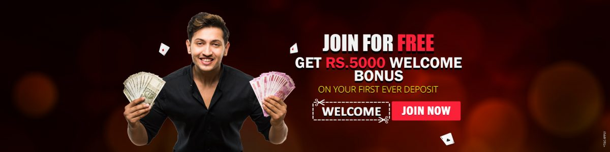 Get Rs.5000 bonus on your first deposit