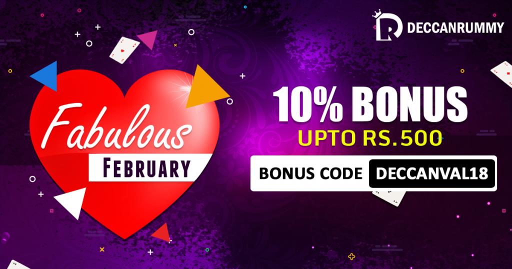 Rummy Valentine Bonus