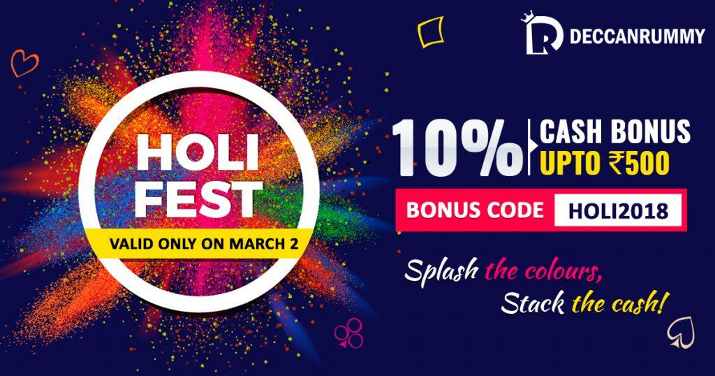 Holi Bonus Fest