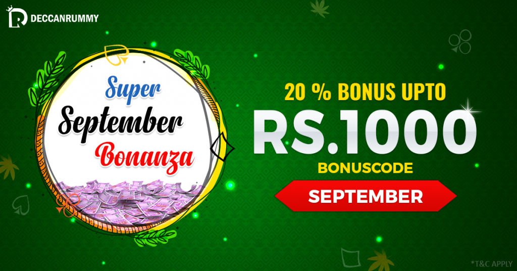 Super September Bonanza