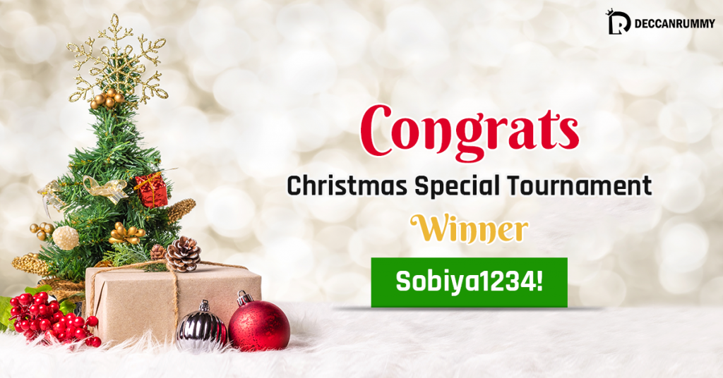 Christmas Special Tournament winner