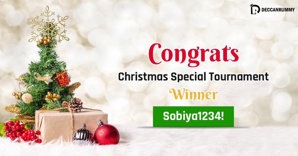 Christmas Special Tournament winner