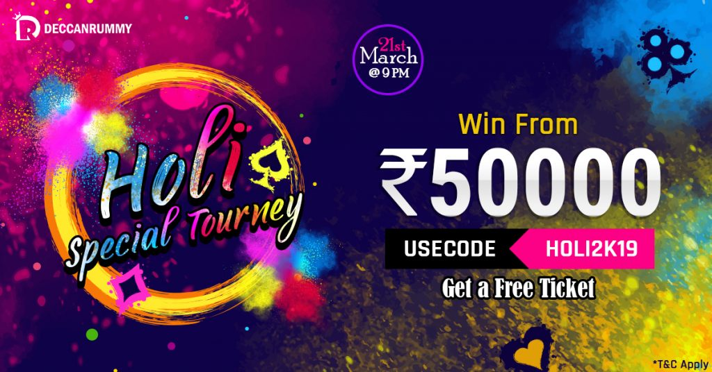 Holi Special Tournament