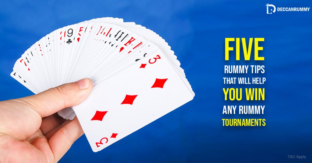 five rummy tips
