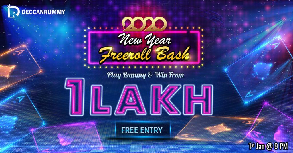 New Year Freeroll Bash