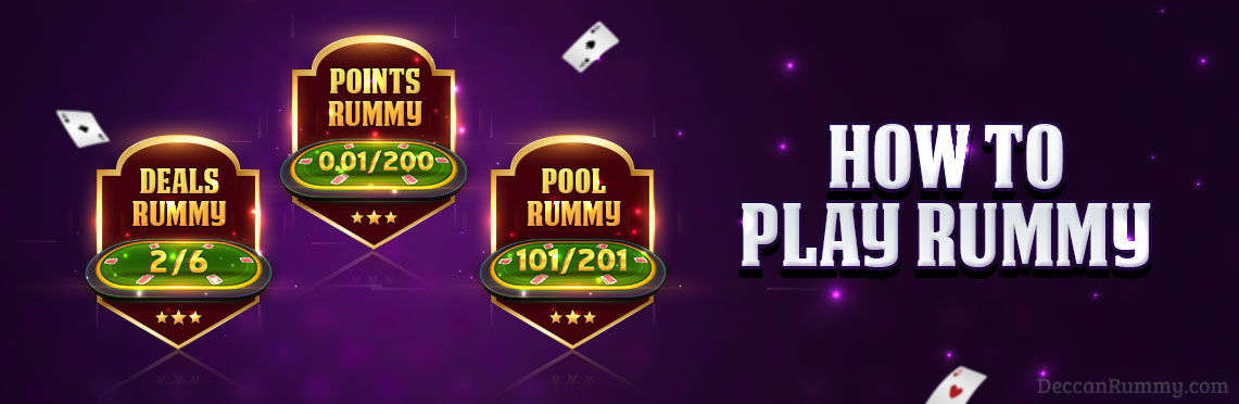 how to play rummy learn the rules of rummy  win real cash