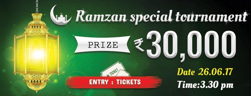 Rummy Tournament  Ramzan Special Rs  30000 tourney