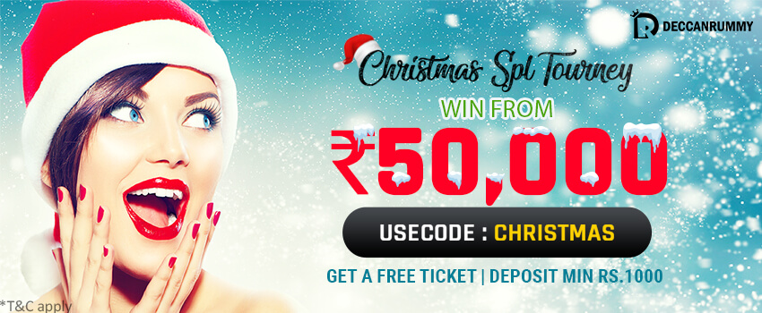 Christmas Special Rummy tournament